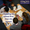 Choosing the school first, then the house